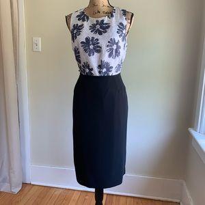 Le Suit black skirt size 12